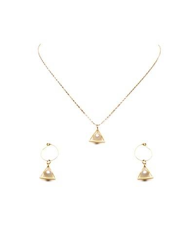 Amulette Jewel Küpe Altın